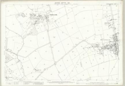 Huntingdonshire IX.2 (includes: Denton and Caldecote; Folksworth and Washingley; Stilton) - 25 Inch Map