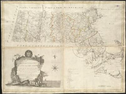 An accurate map of the Commonwealth of Massachusetts exclusive of the District of Maine, compiled pursuant to an act of the General Court from actual surveys of the several towns &c. taken by their order, exhibiting the boundary lines of the Commonwealth