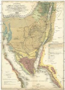 Geognostische Karte des peträischen Arabien und den südlichen Theiles von Sirien