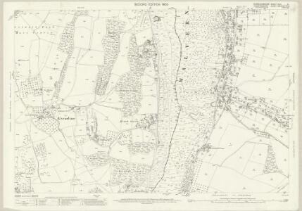 Worcestershire XLVI.8 (includes: Colwall; Little Malvern; Malvern Wells; Welland) - 25 Inch Map