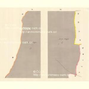 Glasdörf (Sklena Wes) - m2733-1-004 - Kaiserpflichtexemplar der Landkarten des stabilen Katasters