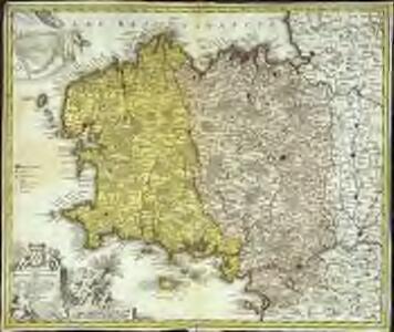 Tabula ducatus Britanniæ Gallis