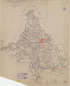 Mapa planimètric de Sant Cugat del Vallès