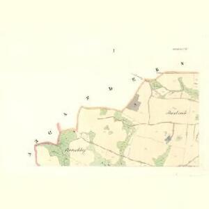 Siebenhöfen (Sedmidwory) - m2709-1-001 - Kaiserpflichtexemplar der Landkarten des stabilen Katasters