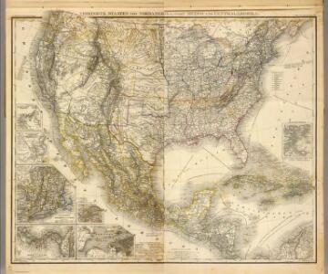 Composite: Vereinigte Staaten von NordAmerika, nebst Mexico und Centralamerika.