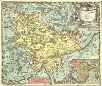 Nova et accurata Territorii Vlmensis cum Dominio Wainensi Descriptio