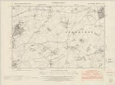 Herefordshire XVIII.NW - OS Six-Inch Map