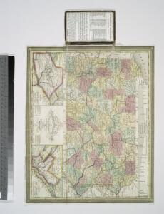 The tourist's pocket map of Pennsylvania: exhibiting its internal improvements, roads, distances &c. / by J. H. Young; D. Haines, sc.