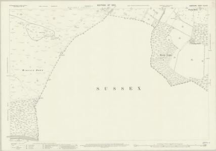 Hampshire and Isle of Wight XLIV.15 (includes: Bramshott; Liss; Rogate; Trotton; Whitehill) - 25 Inch Map