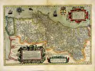 Portugalliae que olim Lusitania, novissima et exactissima descriptio