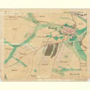 Piesling - m2287-1-006 - Kaiserpflichtexemplar der Landkarten des stabilen Katasters