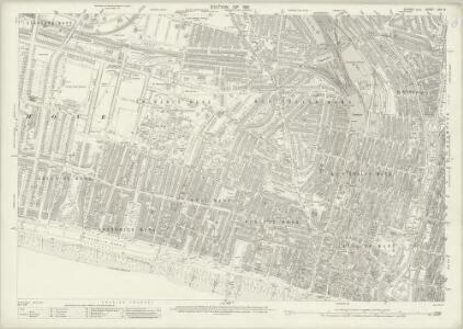 Sussex LXVI.9 (includes: Brighton; Hove) - 25 Inch Map