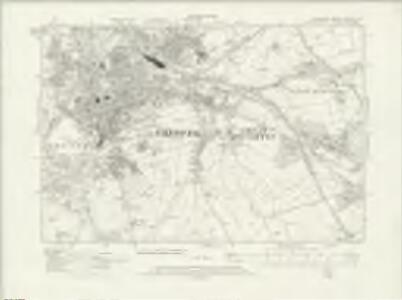 Cheshire XXXVIII.SE - OS Six-Inch Map