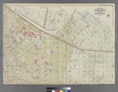 Part of Wards 18 & 27. Land Map Sections, Nos. 18 & 27. Volume 1, Brooklyn Borough, New York City.