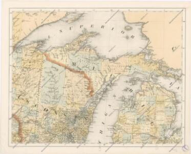 Special -Karte der Vereinigten Staaten von Nord - America No 2.