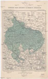 Generální mapa okresního hejtmanství Opavského