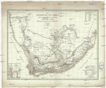 Die Südspitze von Africa mit der Colonie der Guten Hoffnung und dem Kaffern-Lande oder Südrand von Africa und dessen Stufenlaender