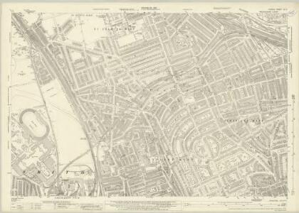 London (1915- Numbered sheets) IV.11 (includes: Hammersmith; Kensington) - 25 Inch Map
