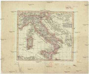 Italiae antiquae tabula geographica
