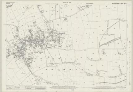 Northamptonshire XXIV.8 (includes: Rothwell; Rushton) - 25 Inch Map