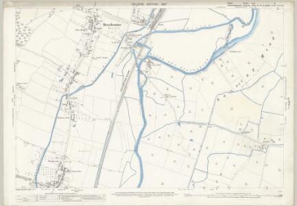 Essex (1st Ed/Rev 1862-96) XLIX.2 (includes: Hoddesdon; Nazeing) - 25 Inch Map