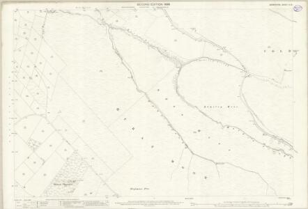 Derbyshire III.13 (includes: Charlesworth; Glossop) - 25 Inch Map