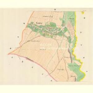 Grätz (Hradetz) - m0888-1-003 - Kaiserpflichtexemplar der Landkarten des stabilen Katasters