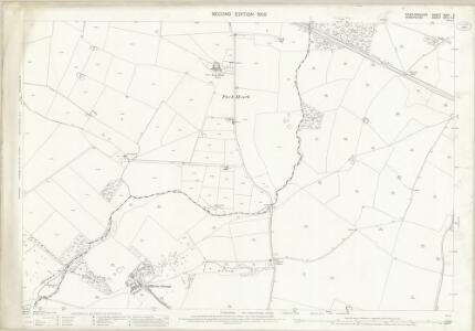 Staffordshire XXXV.3 (includes: Adbaston; Cheswardine) - 25 Inch Map