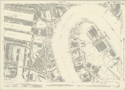 Essex (New Series 1913-) n LXXXVI.13 (includes: Borough Of Greenwich; Poplar Borough) - 25 Inch Map