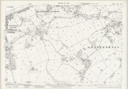 Cheshire XVI.12 (includes: Appleton; Grappenhall; Stockton Heath; Warrington) - 25 Inch Map