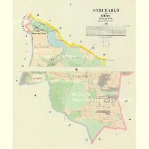 Struhadlo - c4765-6-001 - Kaiserpflichtexemplar der Landkarten des stabilen Katasters