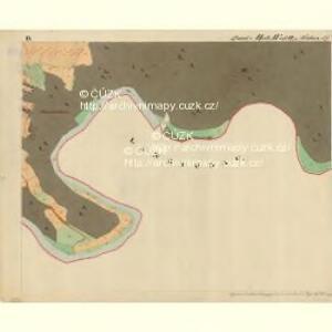 Cwalatitz - m0989-1-009 - Kaiserpflichtexemplar der Landkarten des stabilen Katasters