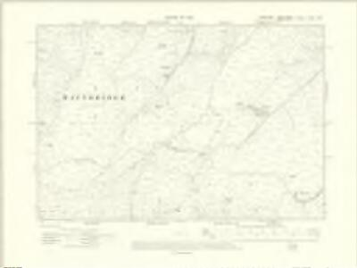 Yorkshire LXXXI.NE - OS Six-Inch Map