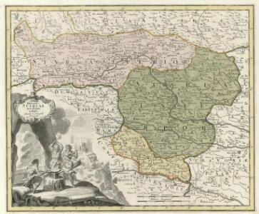Ducatus Styriae novissima tabula