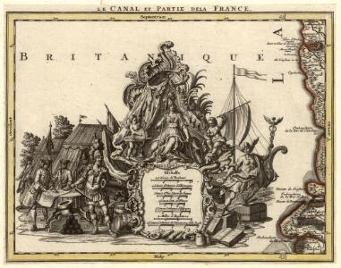 Le Canal et Partie de la France