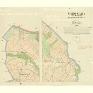 Schönwerth - c3515-4-005 - Kaiserpflichtexemplar der Landkarten des stabilen Katasters
