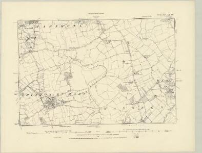 Dorset VII.SW - OS Six-Inch Map