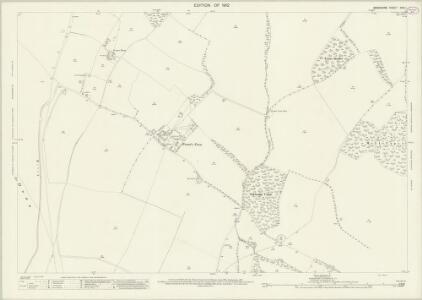 Berkshire XXVI.1 (includes: East Garston; Fawley; West Shefford) - 25 Inch Map