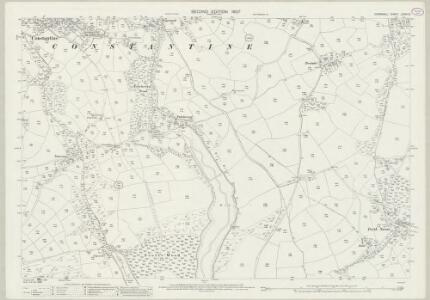 Cornwall LXXVII.5 (includes: Constantine) - 25 Inch Map