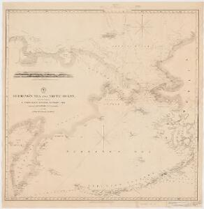 Behring's Sea and Arctic Ocean : from surveys of the U.S. North Pacific Surveying Expedition in 1855, Commander John Rodgers U.S.N. commanding and from Russian and English authorities