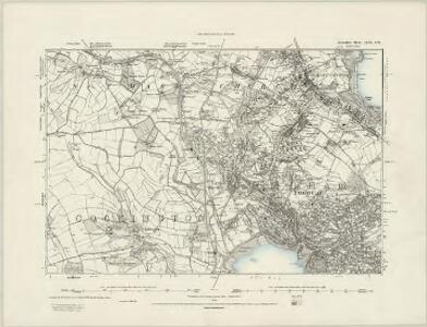 Devonshire CX.NE - OS Six-Inch Map