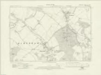 Hampshire & Isle of Wight LIV.SW - OS Six-Inch Map