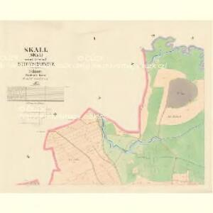 Skall (Skal) - c6925-1-001 - Kaiserpflichtexemplar der Landkarten des stabilen Katasters