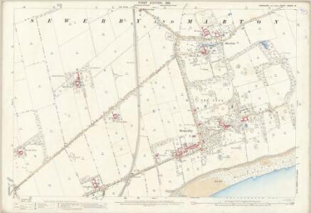 Yorkshire CXXVIII.15 (includes: Bempton; Bridlington) - 25 Inch Map