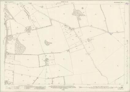 Hertfordshire V.9 (includes: Barkway; Barley; Reed; Royston) - 25 Inch Map