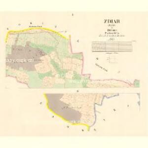 Zdiar (Zdár) - c9363-1-001 - Kaiserpflichtexemplar der Landkarten des stabilen Katasters