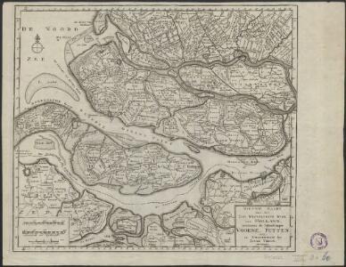 Nieuwe kaart van het Zuid Westelykste deel van Holland, behelzende de baljuwschappen Voorne, Putten enz.