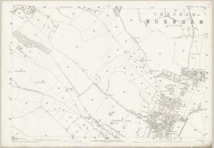 Buckinghamshire XXXIX.9 (includes: Chesham) - 25 Inch Map