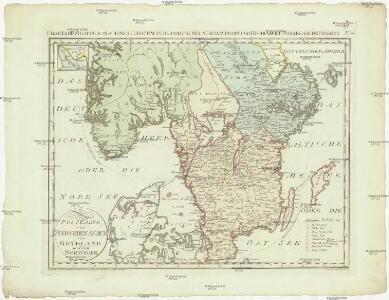 Postkarte von Schweden Ansich, von Gothland und von Norwegen