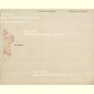 Lunderburg - m0243-1-008 - Kaiserpflichtexemplar der Landkarten des stabilen Katasters